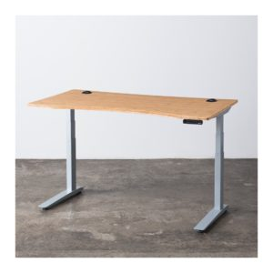 Jarvis bamboo adjustable stand-up desk
